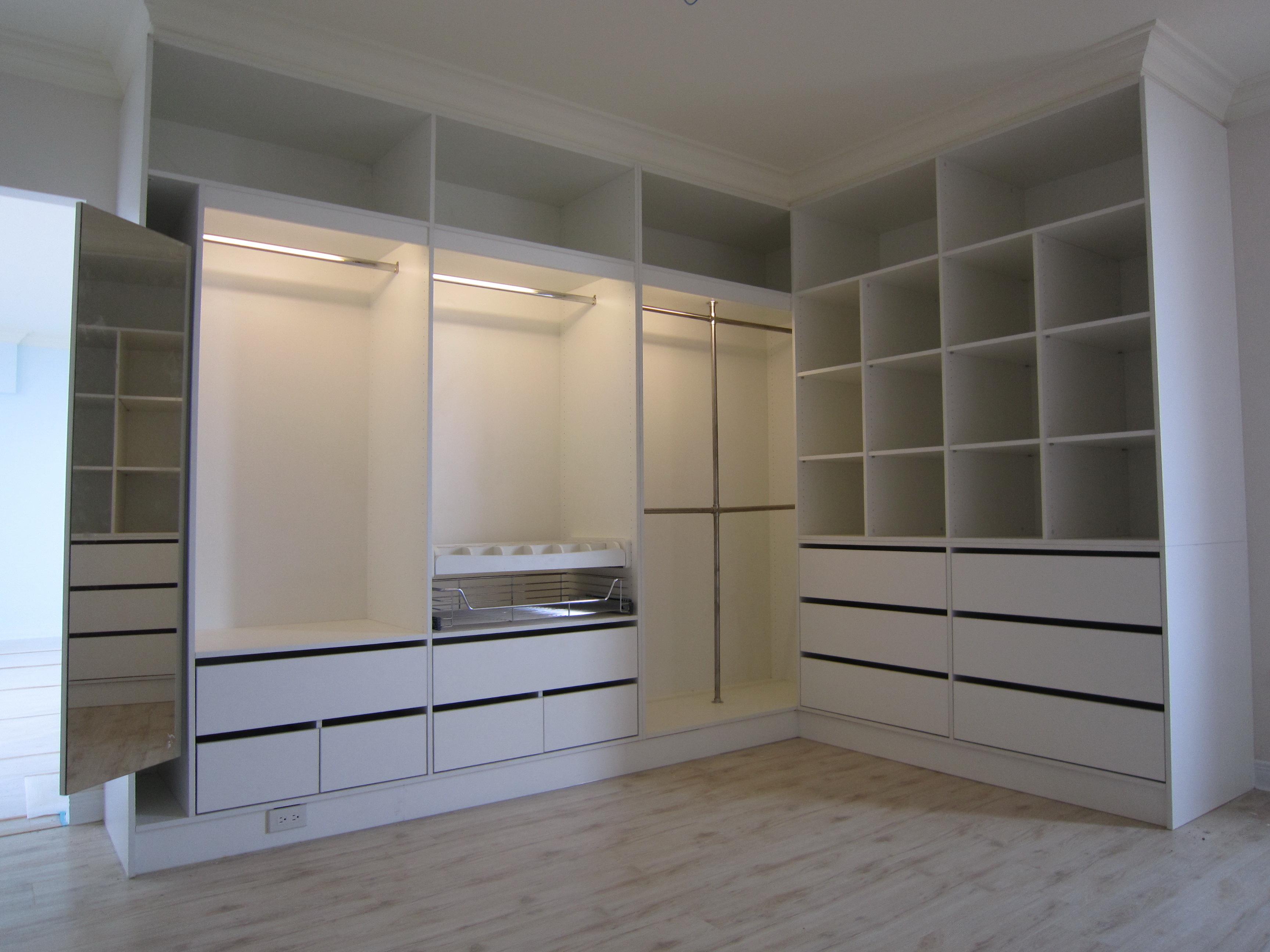 室内彩平图素材 衣柜
